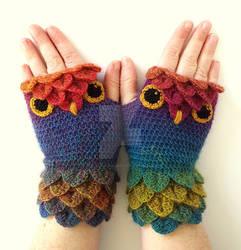Jewels Owl Gloves