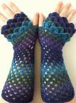 Galaxy Long Custom Dragon Gloves