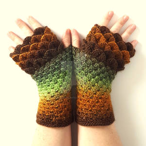 Forest Dragon Gloves