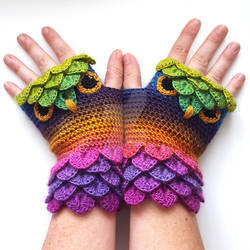 Twilight Forest Owl Gloves