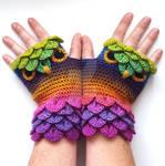 Twilight Forest Owl Gloves