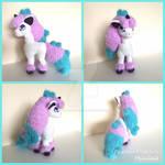 Galar Ponyta by FearlessFibreArts