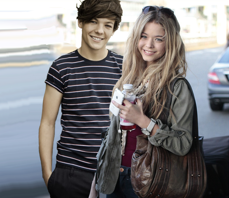 Louis tomlinson and sasha pieterse by junekiddo on deviantart louis tomlinson and sasha pieterse by junekiddo thecheapjerseys Images