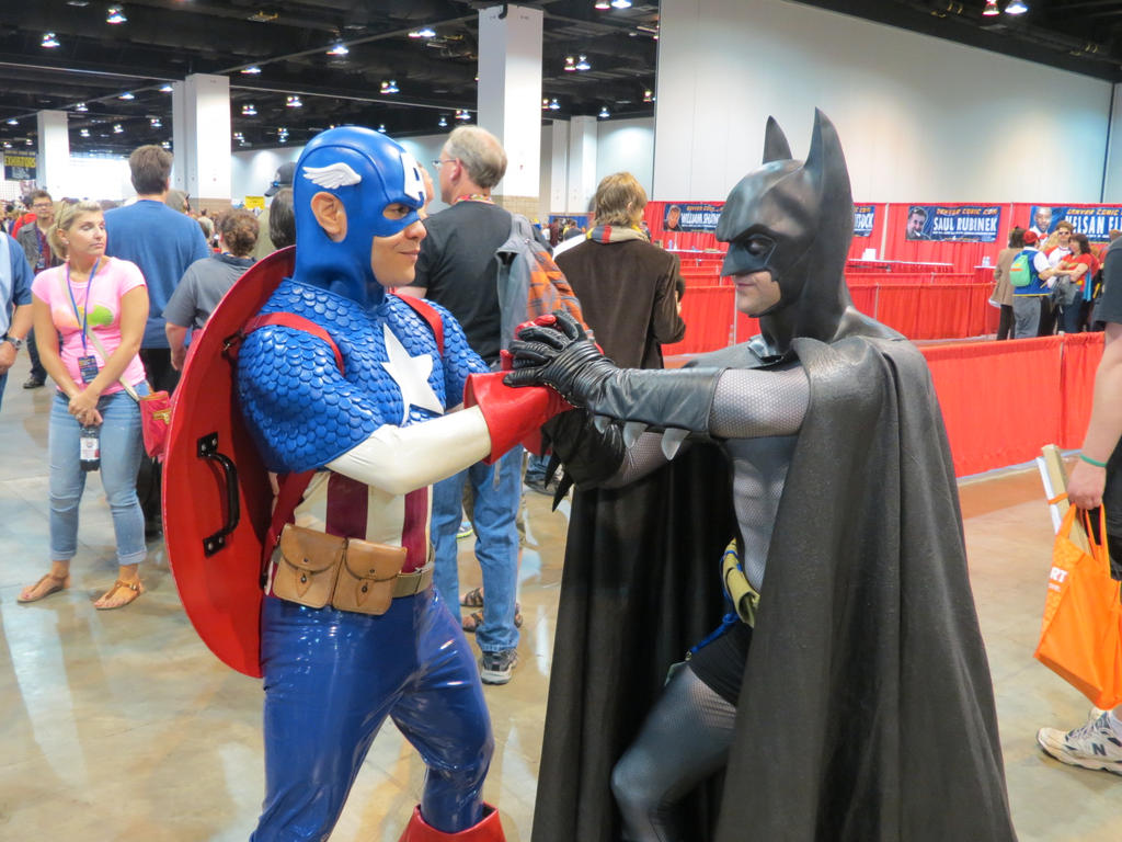 captain america and batman team up by wilbertcaptain on deviantart