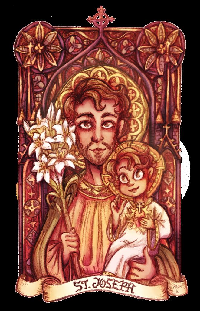Saint Joseph by milkiatte