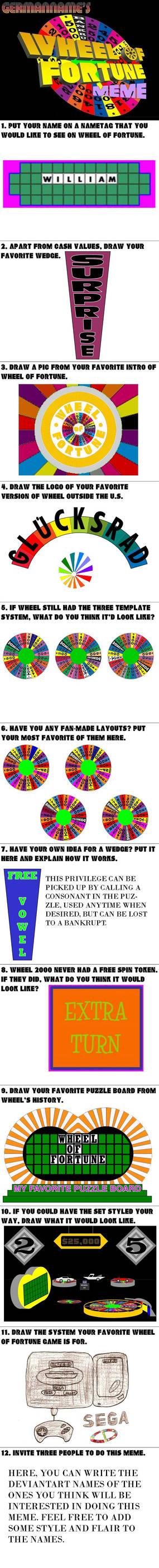 Wheel of Fortune MEME Sample