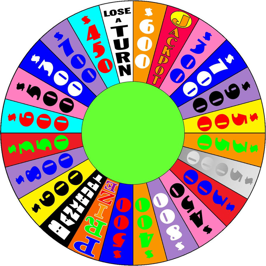 Lucky Wheel Round 2 by germanname on DeviantArt