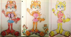 Lisa, Billy, Tammy, Tails and Zooey Gift Drawing