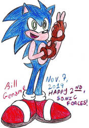 Sonic's New Gloves Collab