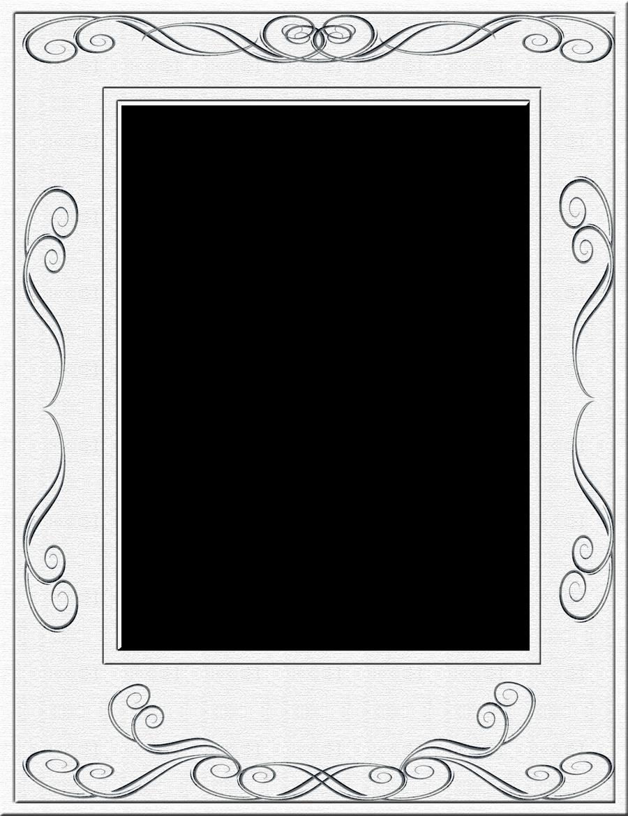White Frame Png White Frame by Spidergypsy