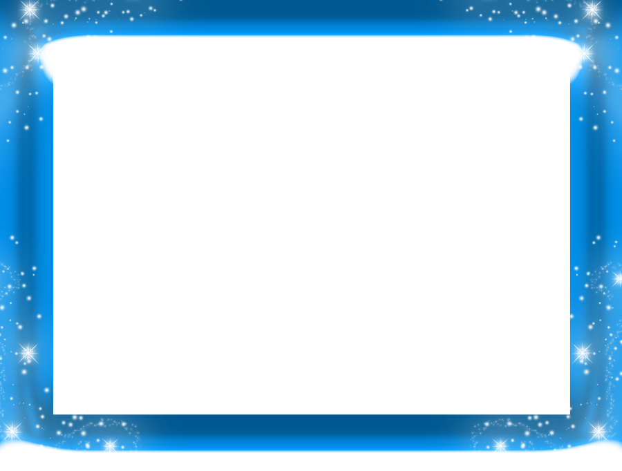 Christmas Frame Png Blue image gallery