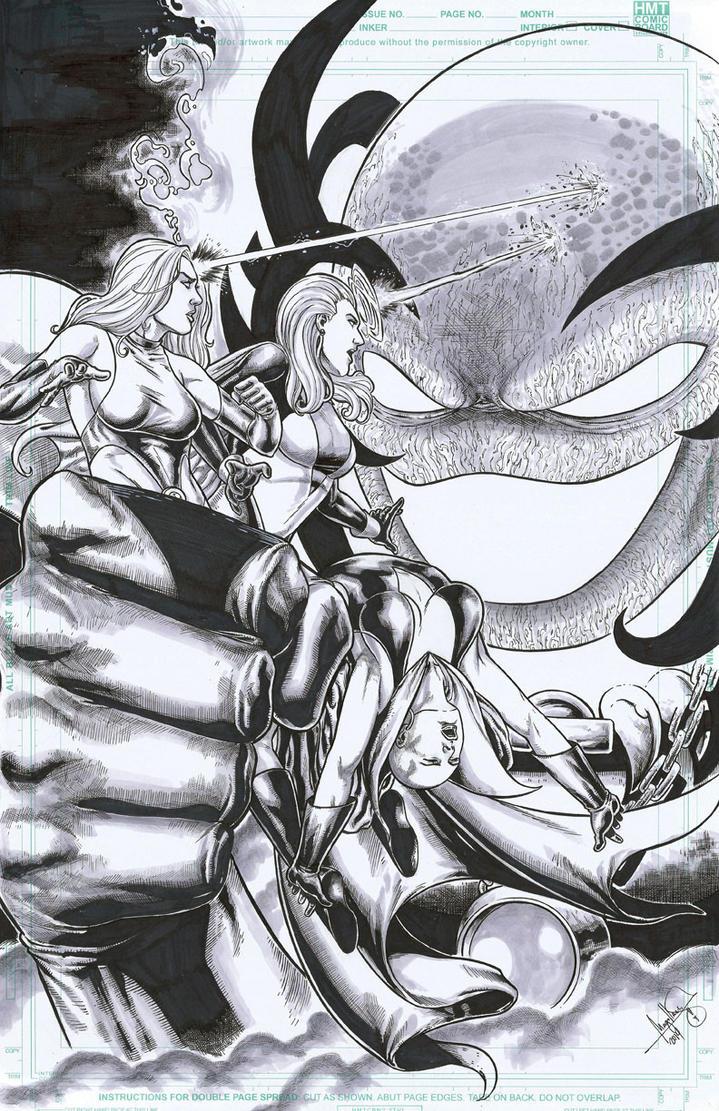 LEGION OF SUPERHEROES :D by ashkel