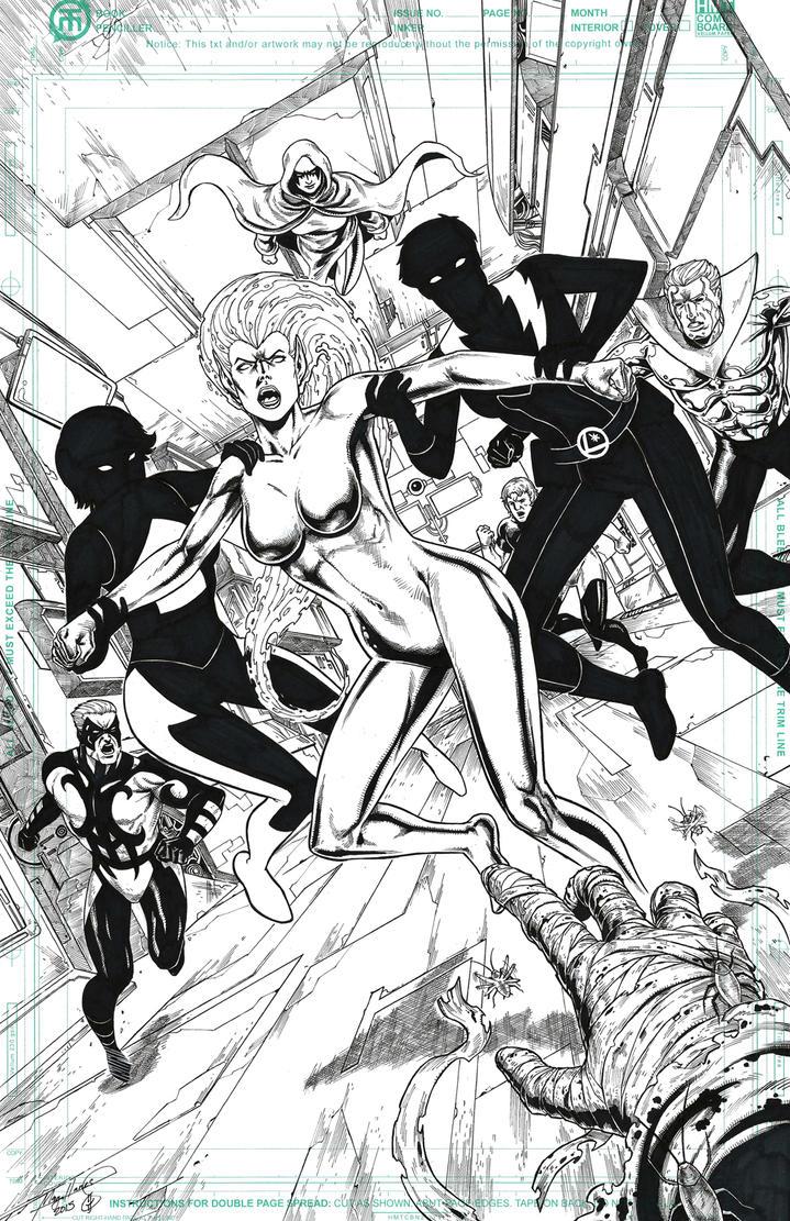 Legion of SuperHeroes by ashkel