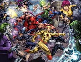 Marvel Villains vs Dc Villains by ashkel