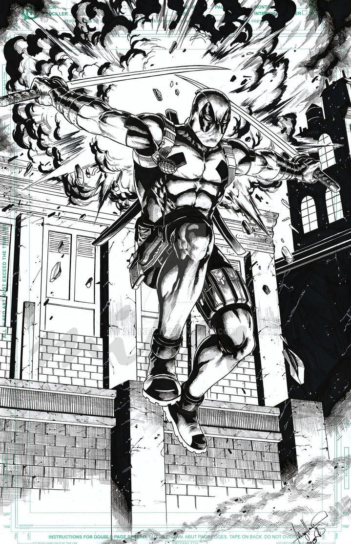 Deadpool by ashkel