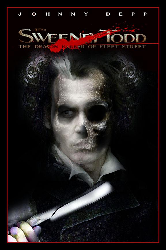 sweeney todd movie poster xx by rickbw1 on deviantart