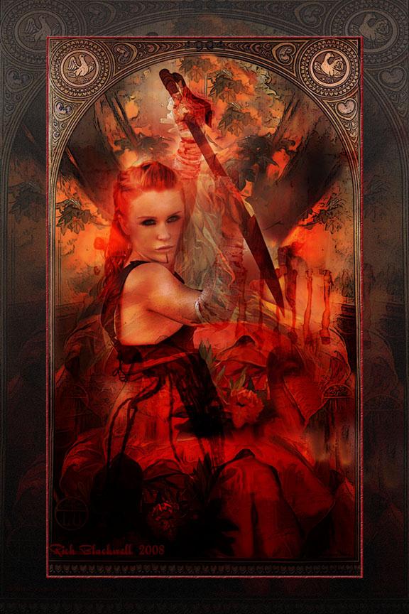 Crimson Valkyrie by Rickbw1