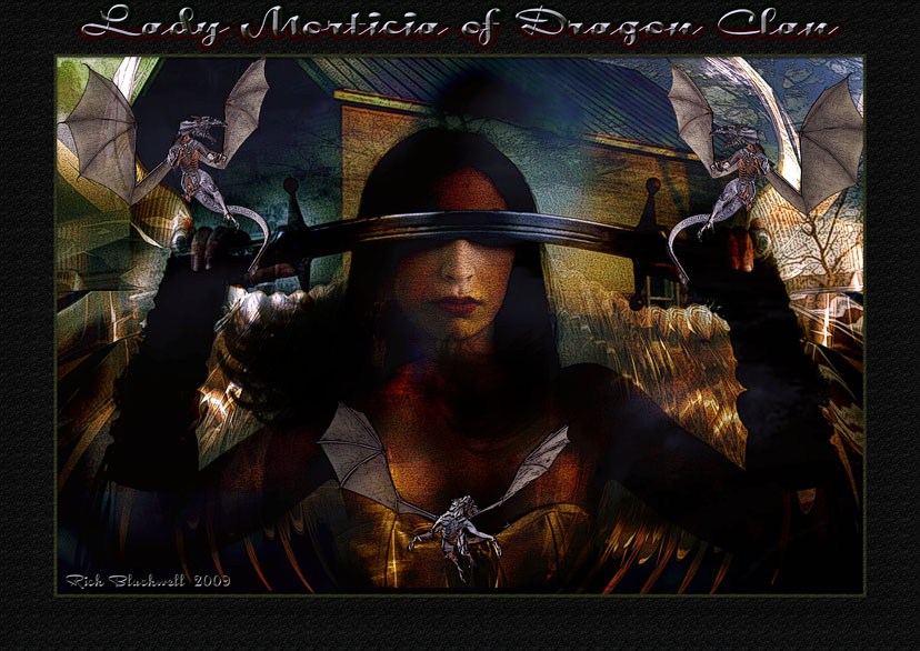 Lady Morticia of Dragon Clan by Rickbw1