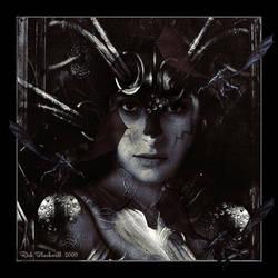Lady Hazard of Dragon Clan BW