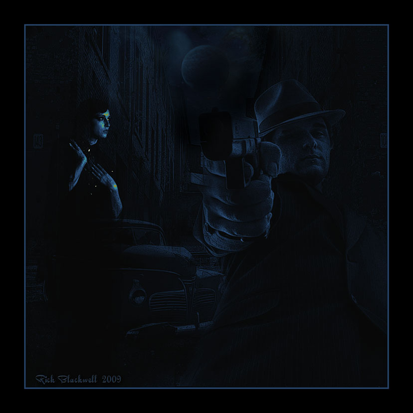 A taste of Noir Blue by Rickbw1