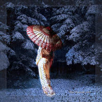 Geisha In Winter by Rickbw1