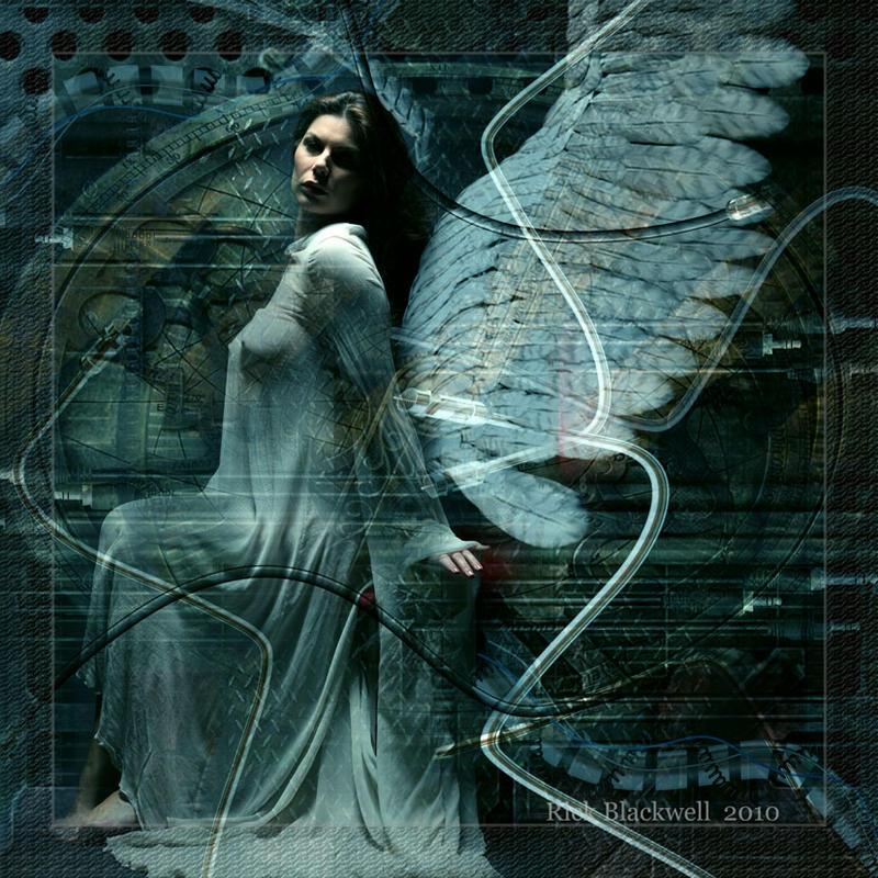 CYBER ANGEL FEMALE by Rickbw1