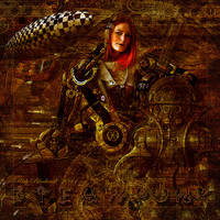 STEAMPUNK MAXINISTA by Rickbw1