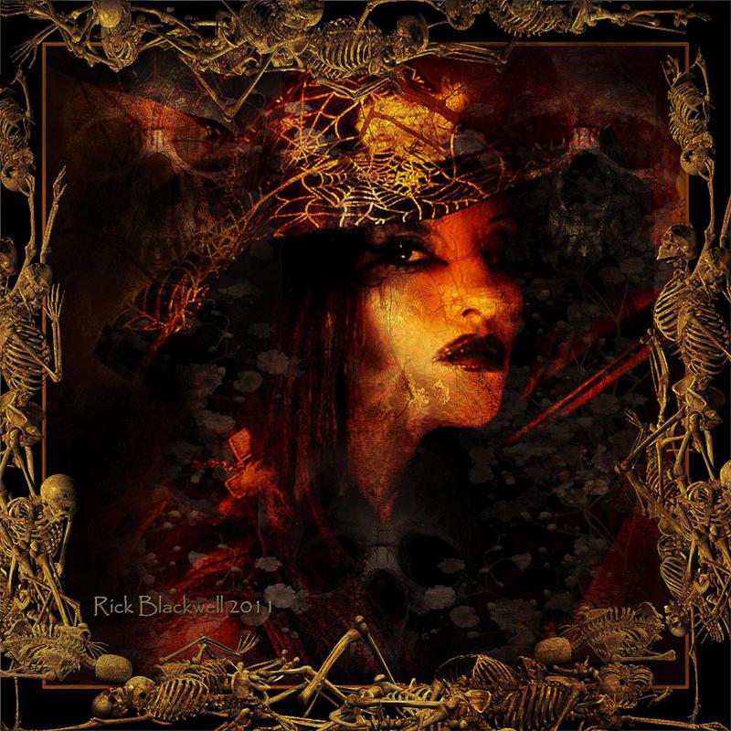Hallow's Witch by Rickbw1