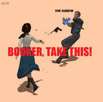 BOOKER, TAKE THIS!