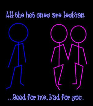 all the hot ones are lesbians by TheLesbianClub