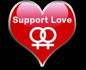 Support Love - Lesbian by TheLesbianClub