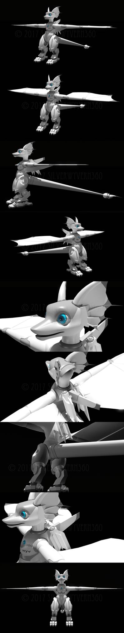 3D SilSil Test Renders by SilverWyvern360