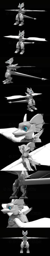 3D SilSil Test Renders
