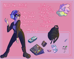 Meet the Artist Meme by Opatoes