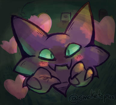 Haunter used Attract! by Opatoes