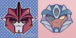 TFP Knock Out And Breakdown Stickers! by Opatoes