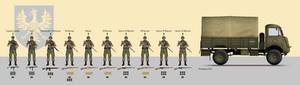 1939 Motorized Infantry Squad