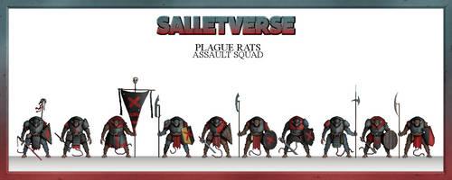 Plague Rats Assault Squad by CountGooseman