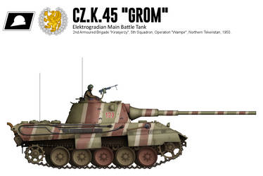 Cz.K.45 Grom (3) by CountGooseman