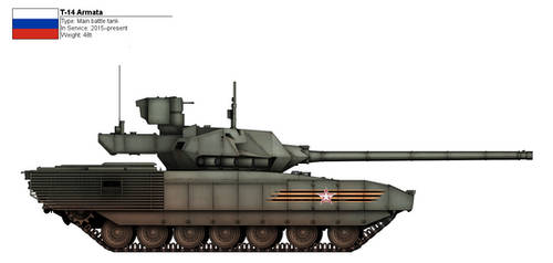 [Commission] T-14 Armata (1) by CountGooseman