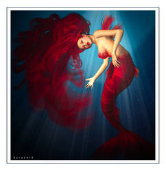 The Mermaid by KYRA2410