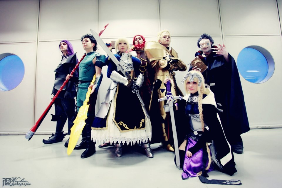Fate Zero Servants by MirrorDancer