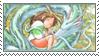 Haku and Chihiro stamp by Oceanbreeze103