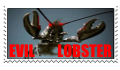 Evil Lobster Stamp by conflagranthead