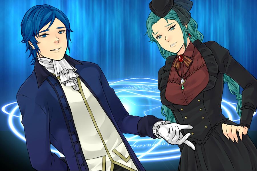 Kaito and Miku by ZaneSakamaki