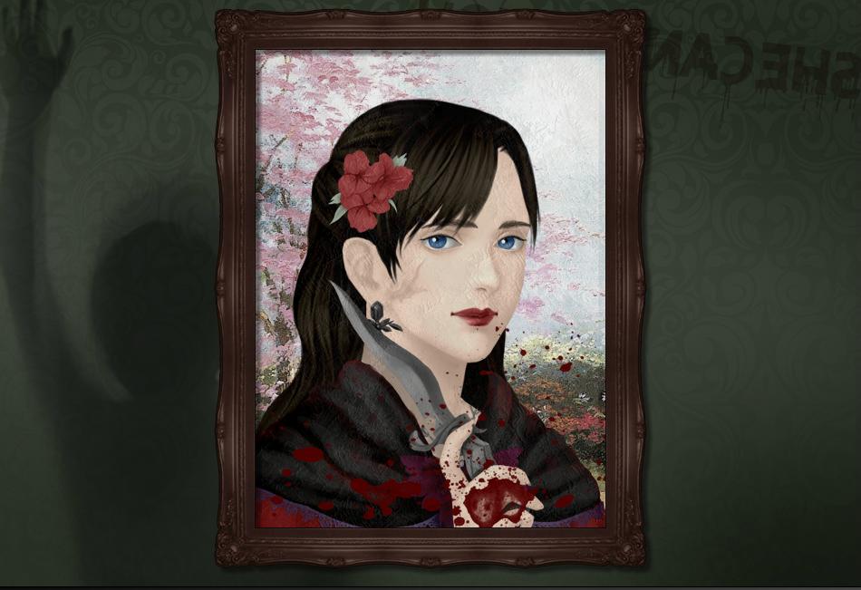 Haunted-portrait by ZaneSakamaki