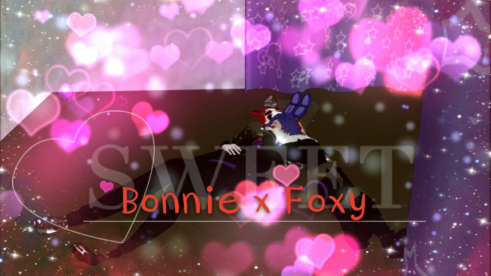 Foxy x Bonnie by ZaneSakamaki
