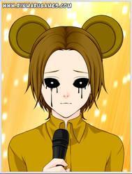 Sad Golden Freddy by ZaneSakamaki