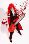 Grell Sutcliff cosplay
