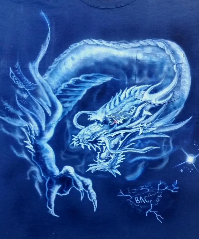 Oriental dragon by zotilraxx